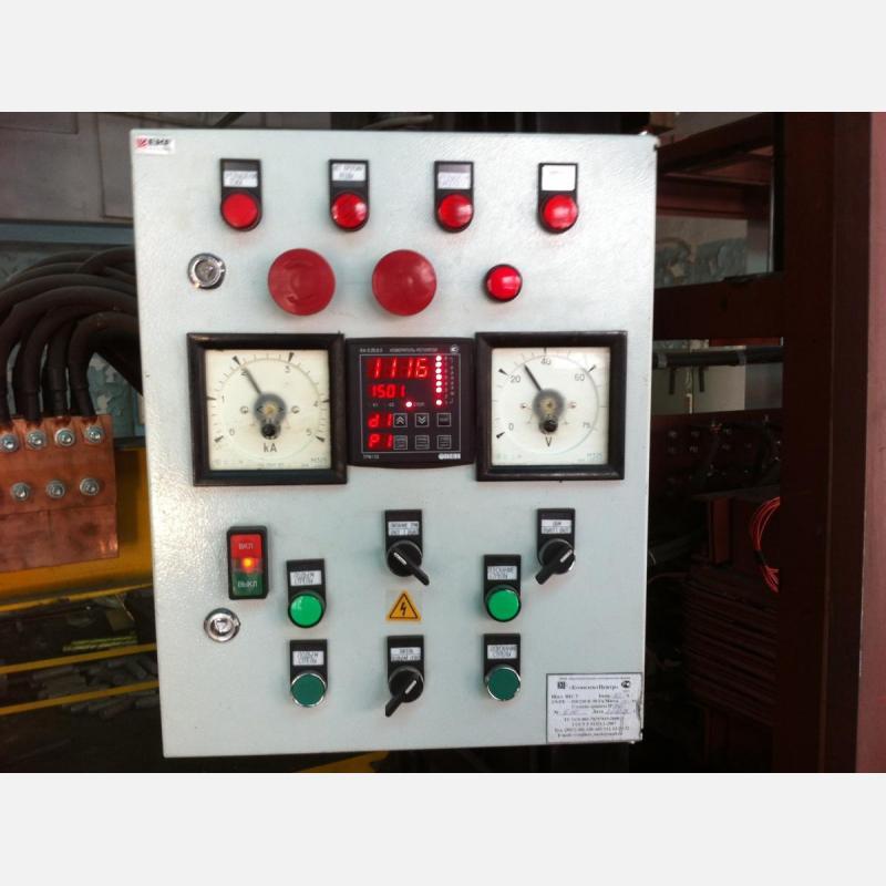 Пульт управления установки электрошлакового переплава КТМЭЛ1/500 ЦМВ-2