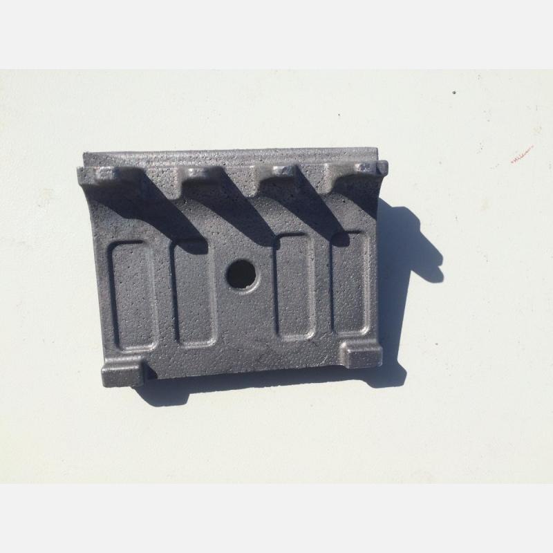 Отливка из Чугуна ЧХ2 - Ламель колосниковая крайняя, изготовленная методом литья по газифицируемым моделям